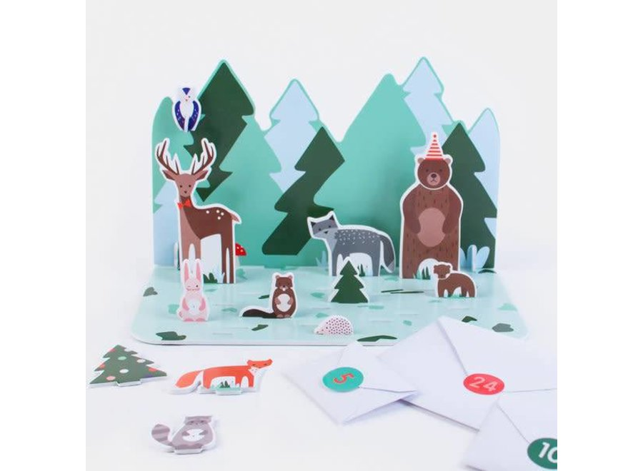 My Christmas Advent Calender - Forest Animals