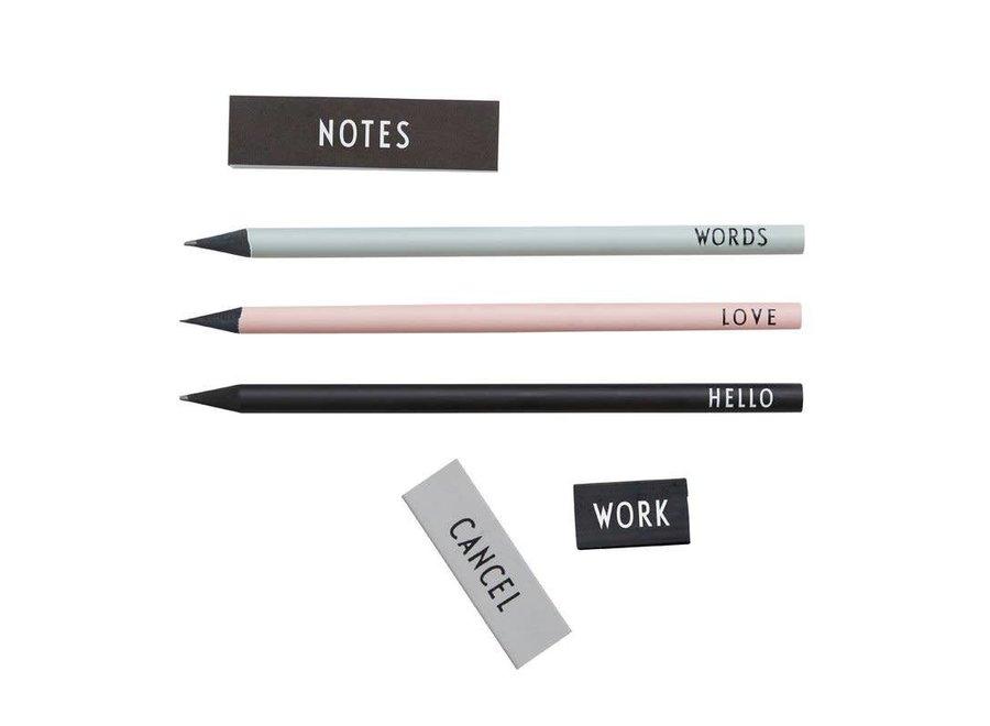 Design Letters - Pencil set