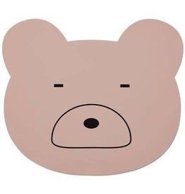 Liewood Liewood - Placemat Mr Bear 'Pink'