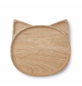 Liewood Liewood - Wooden Plate 'Cat'