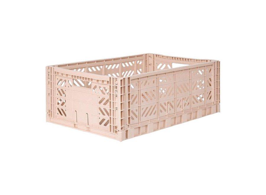 Lillemør - Folding Crate 'Milk Tea' - Maxi