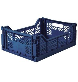 Eef Lillemor Lillemor - Folding Crate 'Navy' - Medium
