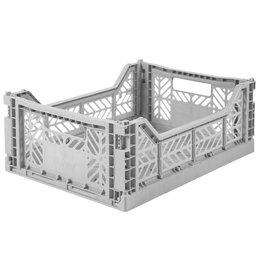 Eef Lillemor Lillemor - Folding Crate 'Grey' - Medium