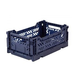 Eef Lillemor Lillemor - Folding Crate 'Navy' - Mini