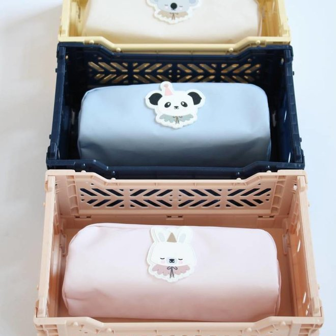 Lillemor - Folding Crate 'Navy' - Mini