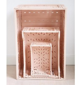 Eef Lillemor Lillemor - Folding Crate 'Milk Tea' - Mini
