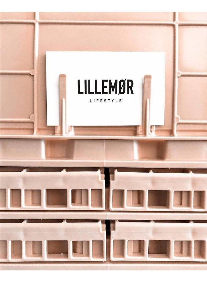Lillemor - Folding Crate 'Milk Tea' - Mini