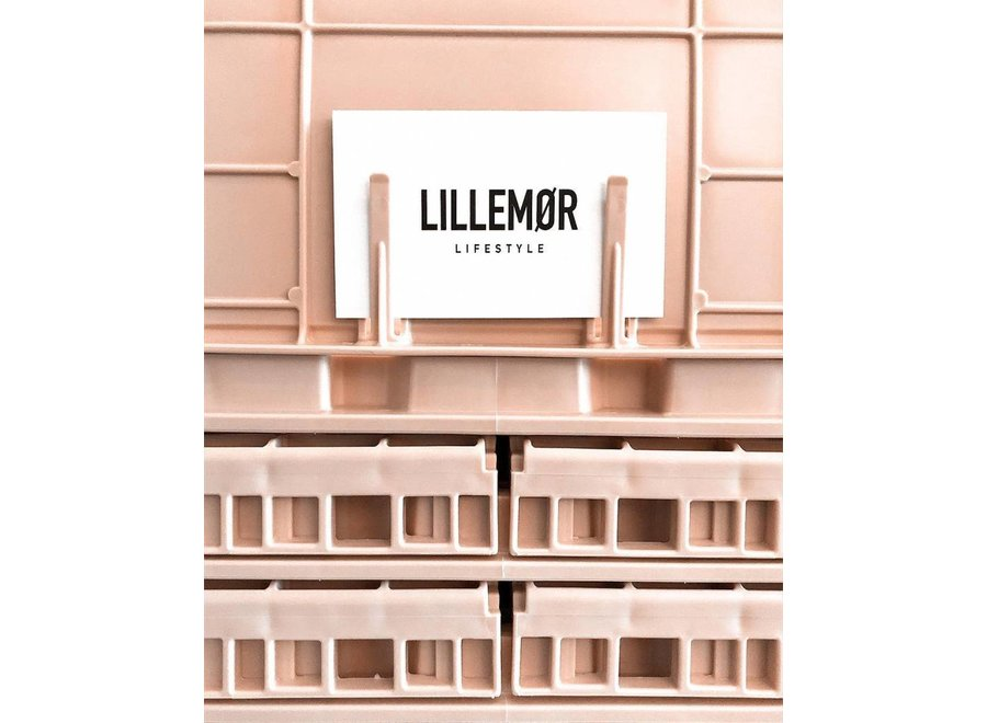 Lillemor - Folding Crate 'Milk Tea' - Mini