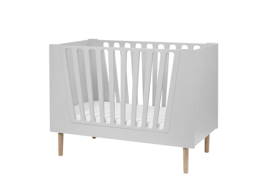 Done By Deer - Baby bed 'Grey'