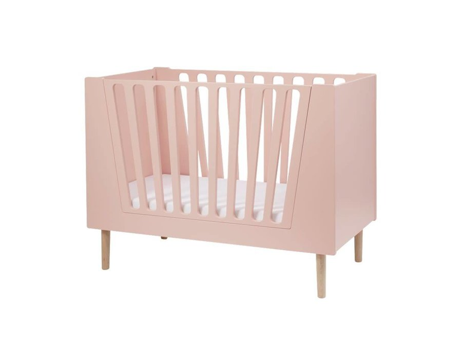 Done By Deer - Baby bed 'Powder Pink'