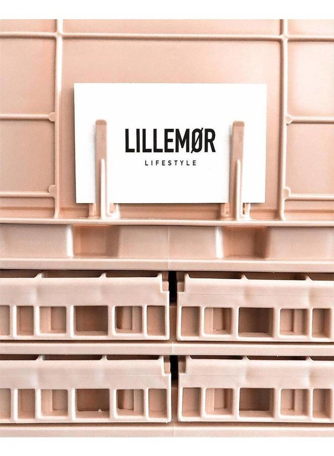 Lillemor - Folding Crate 'Milk Tea' - Medium