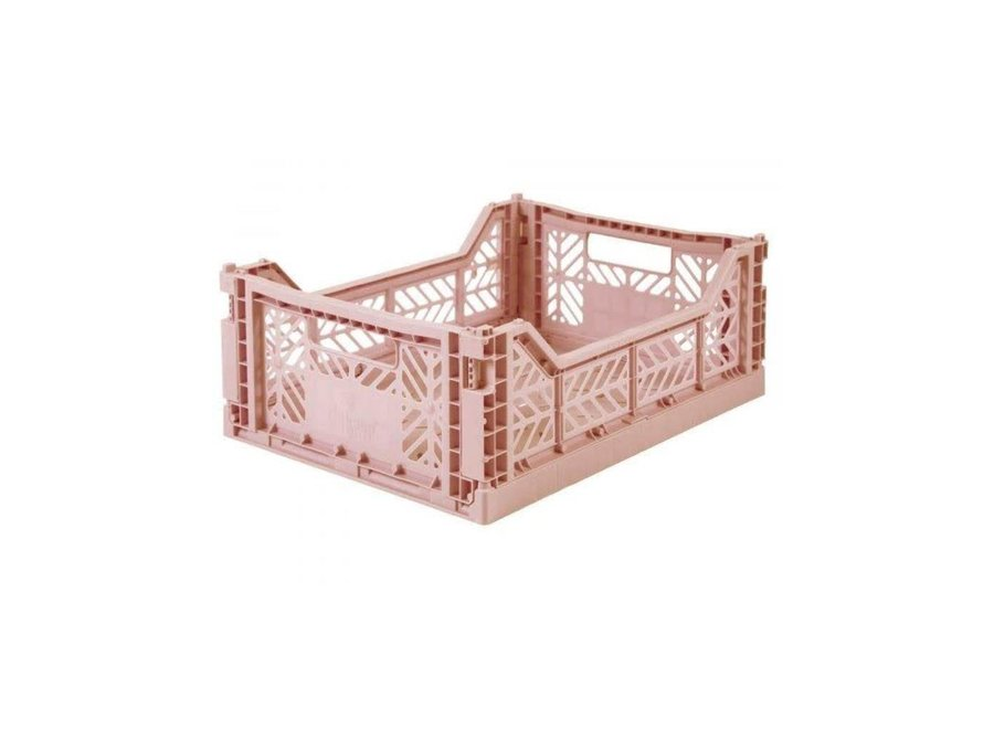 Geboortelijst - Folding Crate 'Milk Tea' - Medium