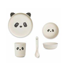 Liewood Liewood - Bamboo Panda eetsetje