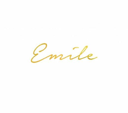 Geboortelijst Emile