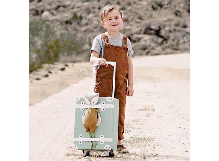 Olli & Ella - 'See Ya' Suitcase - Mint