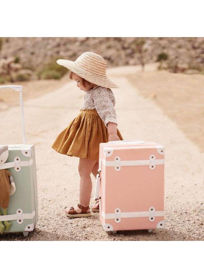 Olli & Ella - 'See Ya' Suitcase - Pink
