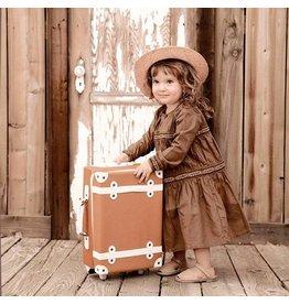 Olli & Ella Olli & Ella - 'See Ya' Suitcase - Rust