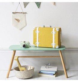 Olli & Ella Olli & Ella - 'See Ya' Suitcase - Mustard