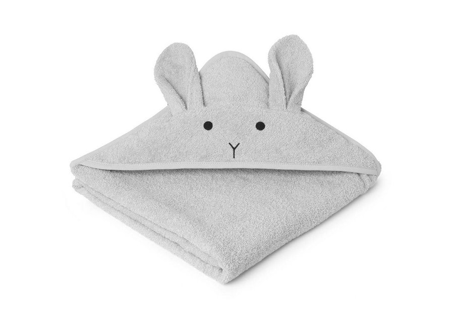 Liewood - Badcape 'Rabbit' - Grey