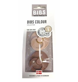 BIBS BIBS - Fopspeen Blister Woodchuck & Blush T1