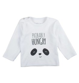 Plum Plum Plum Plum - Longsleeve T-shirt Panda 'Probably Hungry'