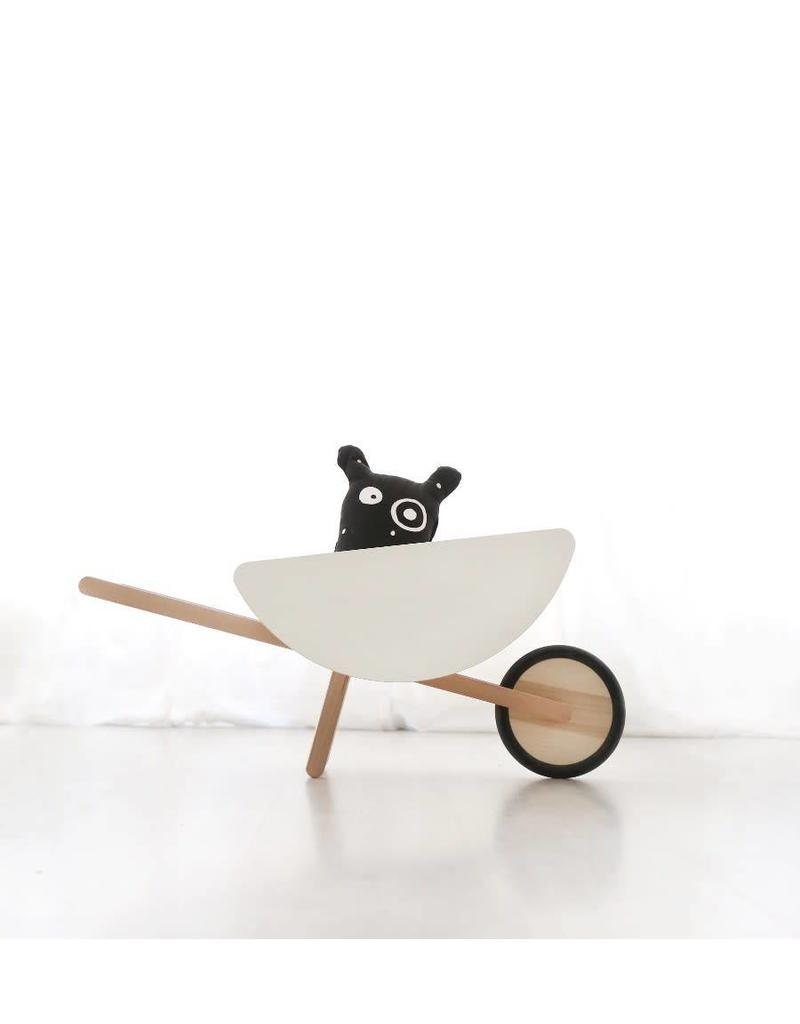Ooh Noo Geboortelijst - Ooh Noo - White Wheel Barrow