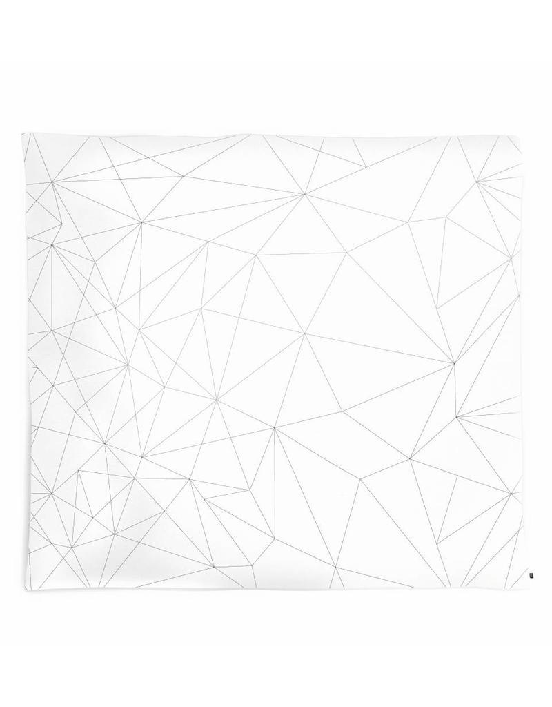 Ooh Noo Geboortelijst - Kussenovertrek 'Geometric web'