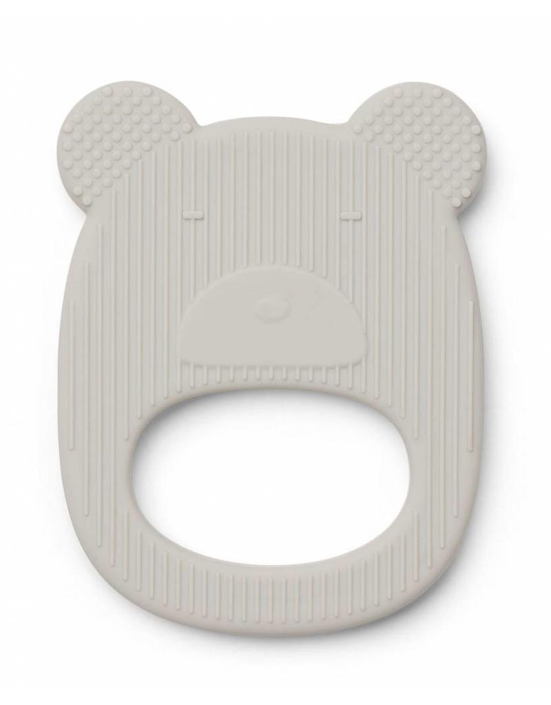 Liewood Liewood - Gemma Teether 'Mr. Bear' - Grey