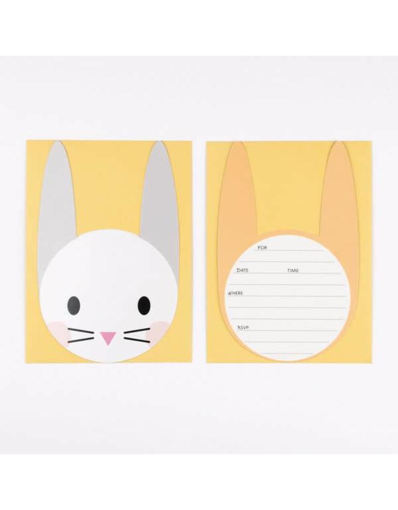 My Little Day My Little Day - Uitnodigingskaartje 'Mini Rabbit'