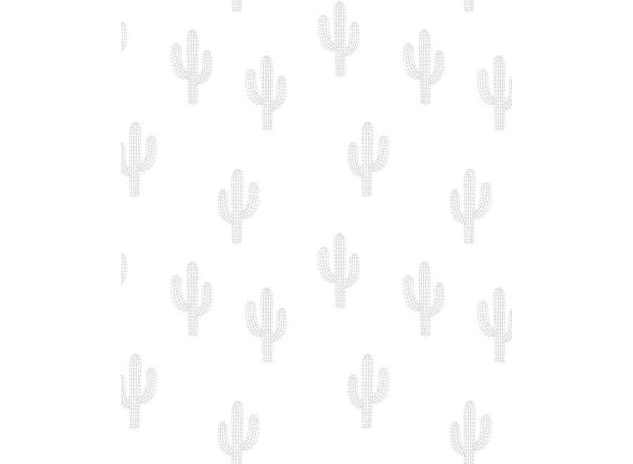 Wall Paper 'Cactus Grey'