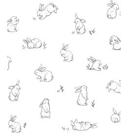 Lilipinso Wall Paper 'Bunnies'