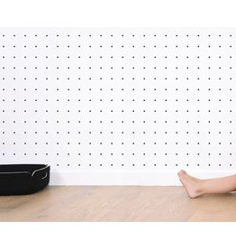 Lilipinso Behang 'Black & white' - Dots