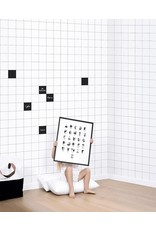 Lilipinso Wall Paper 'Black & white' - Tiles