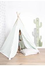 Lilipinso Wall Paper 'Cactus Grey'