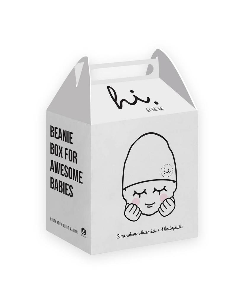Aai Aai Aai Aai - Beanie Box Ash