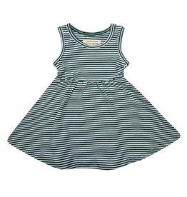Little Indians Little Indians - Dress 'Forest Stripe'