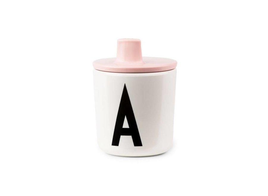 Geboortelijst Annelies - Design Letters - Drinktuit 'Pink'