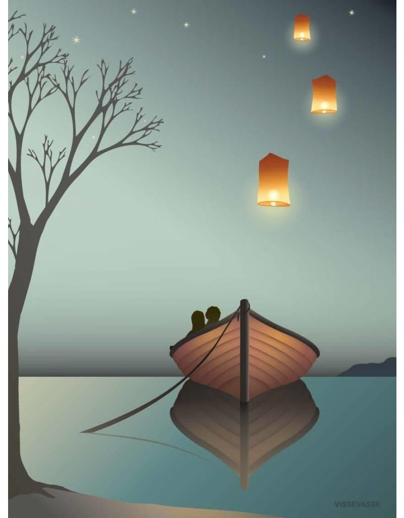 Vissevasse Vissevasse - Poster 'Lanternerne'