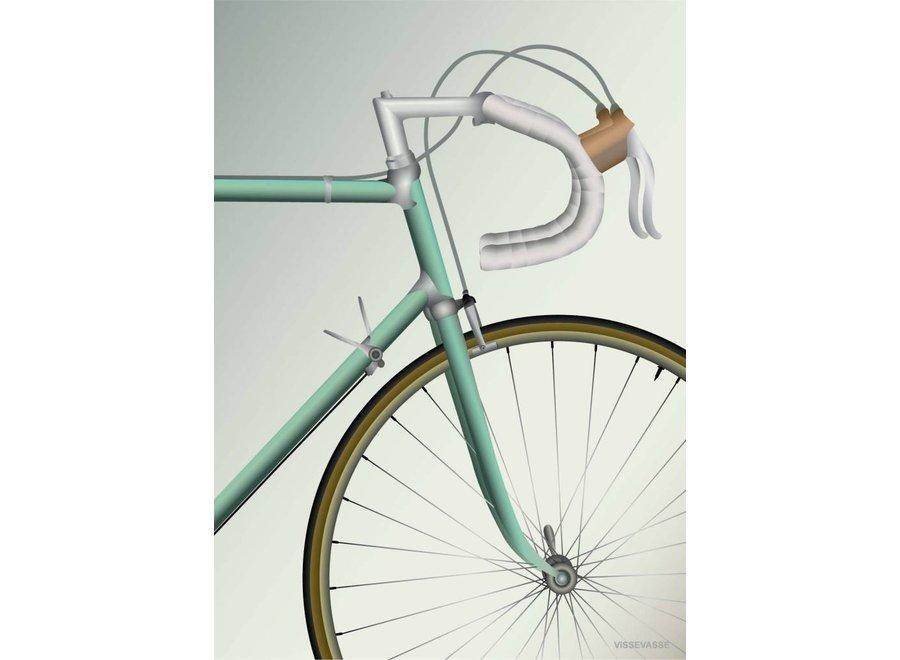 Vissevasse - Poster 'Racing bicycle'