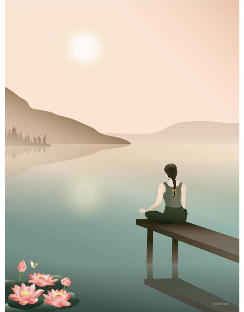Vissevasse Vissevasse - Poster 'Lotus'
