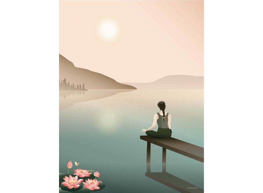 Vissevasse - Poster 'Lotus'