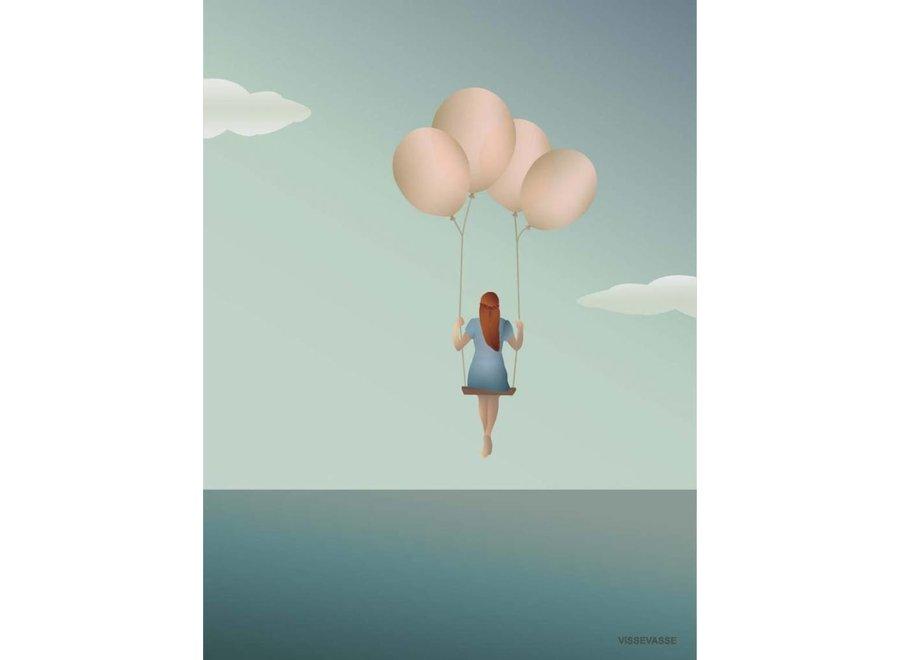 Vissevasse - Poster 'Balloon dream'