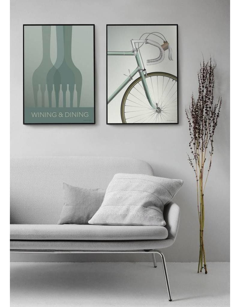 Vissevasse Vissevasse - Poster 'Racing bicycle'