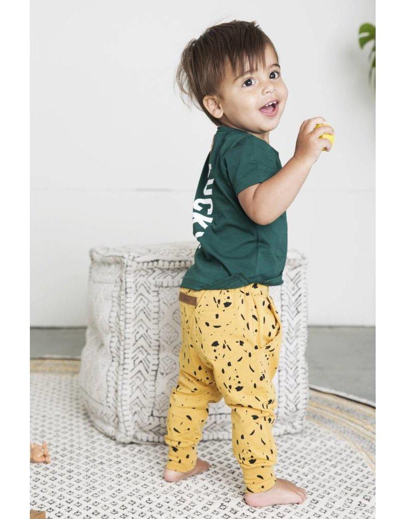 Little Indians Little Indians - T-shirt 'Lucky' - Rain Forest