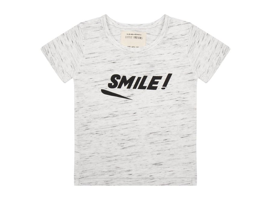 Little Indians - T-shirt 'Marble' SMILE