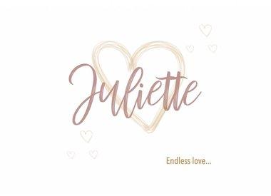 Geboortelijst Juliette