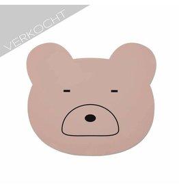 Liewood - Placemat Mr Bear 'Pink'