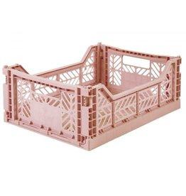 Lillemor - Folding Crate 'Milk Tea' - Medium