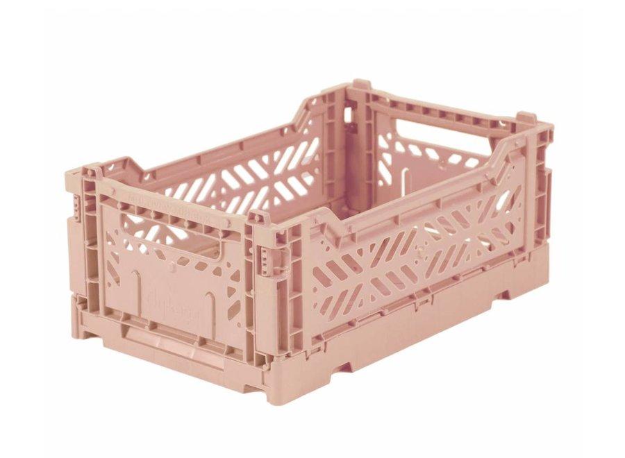 Geboortelijst Annelies - Lillemor - Folding Crate 'Milk Tea' - Mini