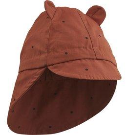 Liewood Liewood - Zonnehoedje 'Gorm Hat' - Classic Dot Rusty